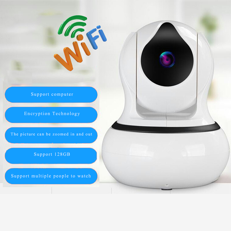Home Security IP Camera Wi-Fi Wireless Mini Network Camera Surveillance Wifi 720P Night Vision CCTV Camera Baby Monitor