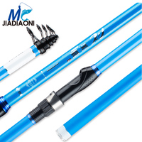 JIADIAONI 2.4m/2.7m/3.0m/3.6m/4.2m Ocean Telescopic Fishing Rod Rock Fishing Rod Fly Fishing Spinning Rod
