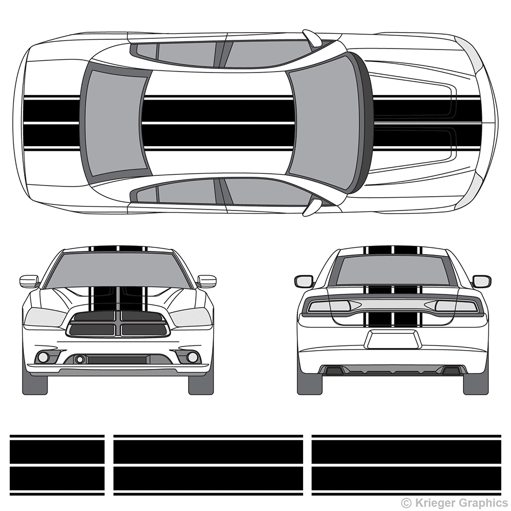 Mode colis ligne style de voiture camion capot toit décor carénage autocollants et décalcomanies pour ford focus 2/opel astra h/seat ibiza/peugeot