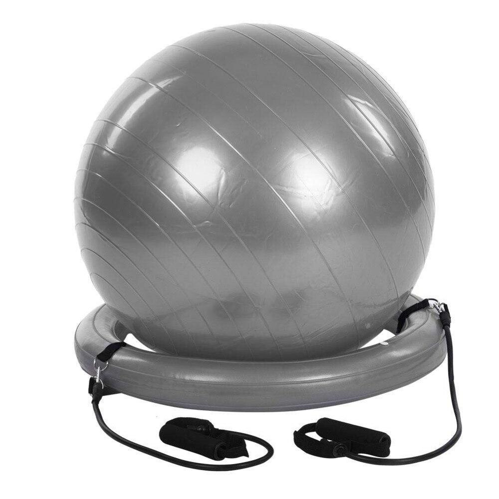Comprar Ejercicio de la estabilidad de la bola de Yoga con la estabilidad  Base bandas elásticas de resistencia para el gimnasio 28aedd30fa4d
