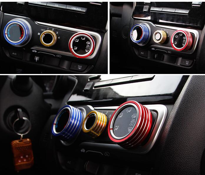honda fit 2016 interior. car stylingcar interior accessories for honda fit 2014 2016 instrument desk air conditioning outlet aluminum alloy decorative on aliexpresscom alibaba