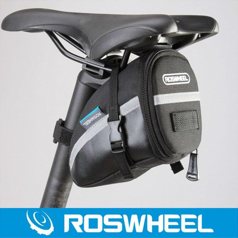 Roswheel Mountain Bike Mtb Tail Bag Bicycle Saddle Bag Road Bike
