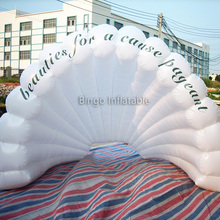 oxford cloth commecial inflatable shell tent for concert, inflatable stage tent, fair tent BG-A0147 toy tent