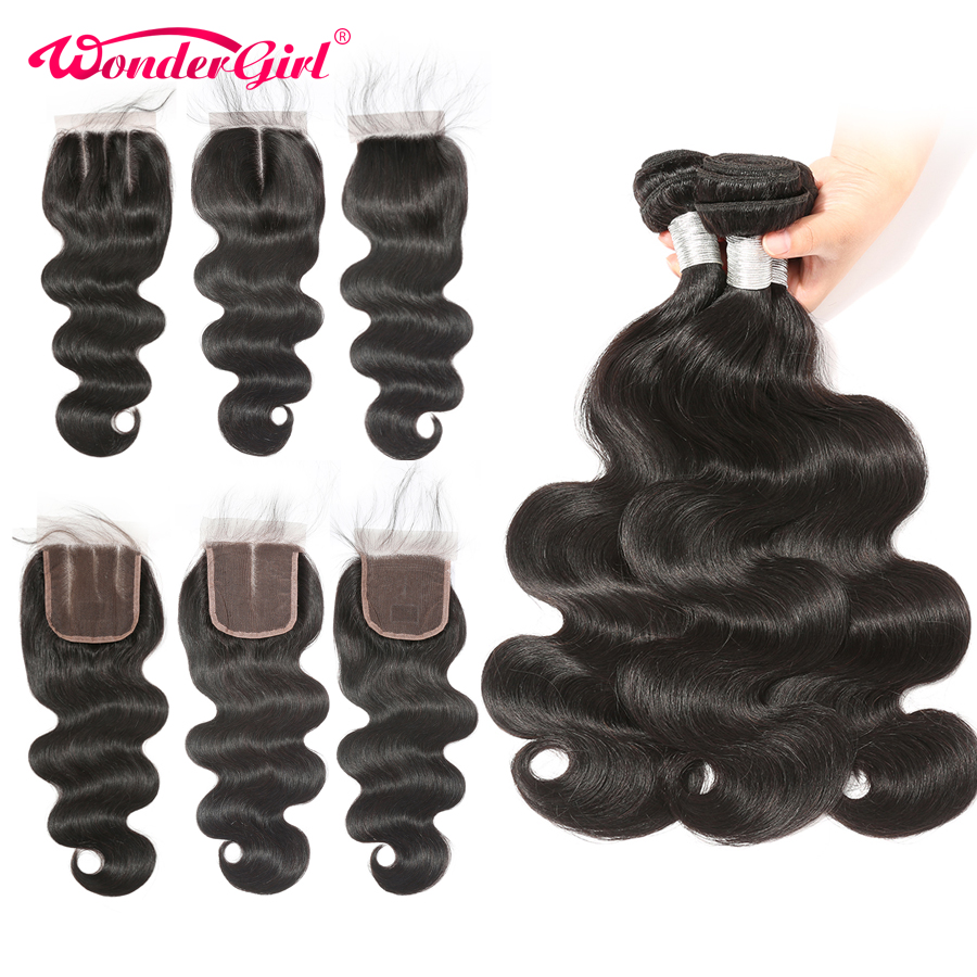 Body Wave Bundles With Closure Brazilian Hair Weave Bundles 100 Human Hair Bundles With Closure Remy
