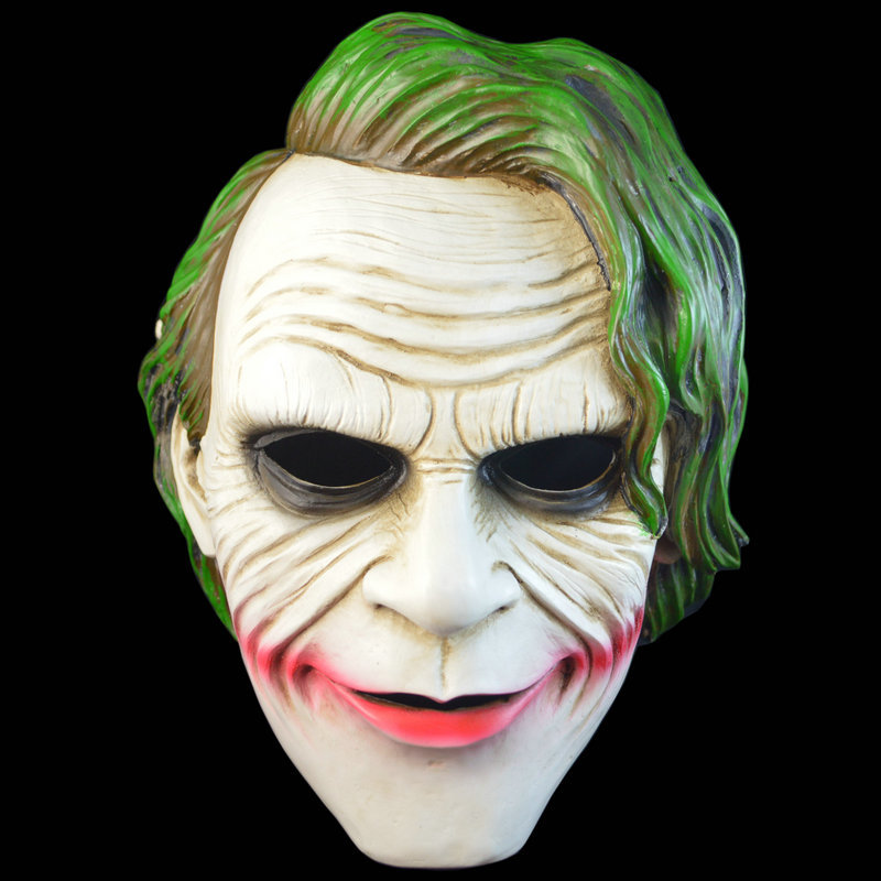 Batman Dark Knight Mask Mascaras Halloween Terror Resin Masque ...