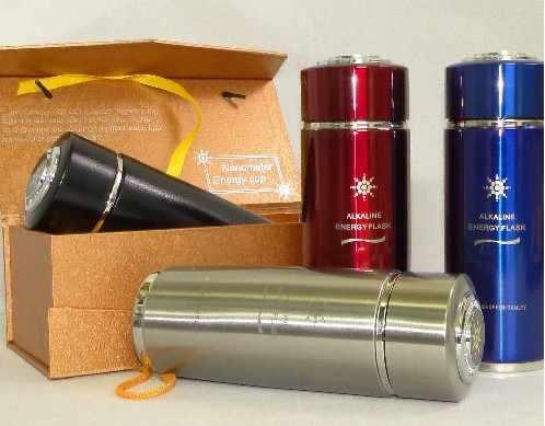 400 мл чашка для щелочной воды/колба замена фильтра + 304 нержавеющая сталь 5 ингредиентов материал + бесплатная доставка