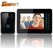 Hghomeart звонок Smart 7 дюйма беспроводной 2.4 г Видео дверной беспроводной дверной звонок видео