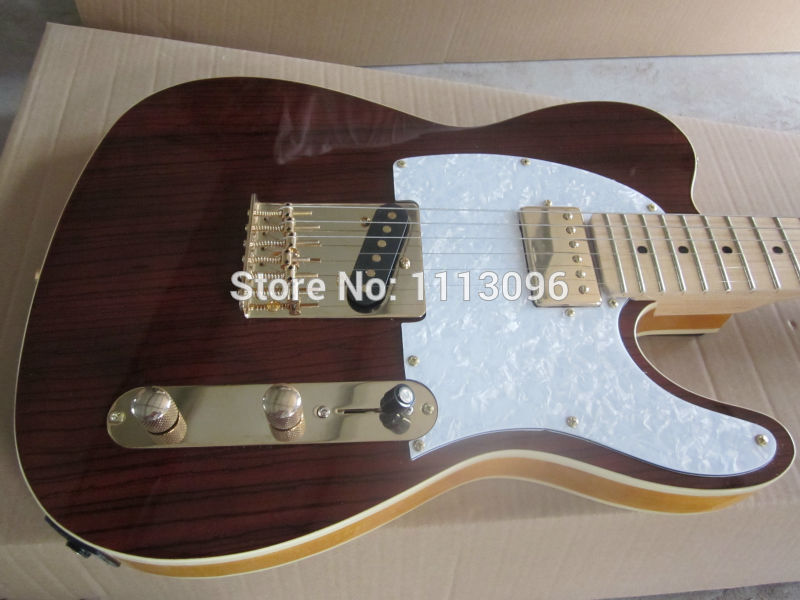 Free shipping wholsale NEW guitarra TL guitarra/with rose wood top red color oem electric guitar/guitar in china