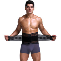 New Adjustable Men Waist Cinchers Trimmer Exercise Sweat Belt Fat Burner Body Shaper Slimming Lose Weight