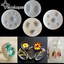 1 шт УФ смолы ювелирные изделия форма из жидкого силикона слеза