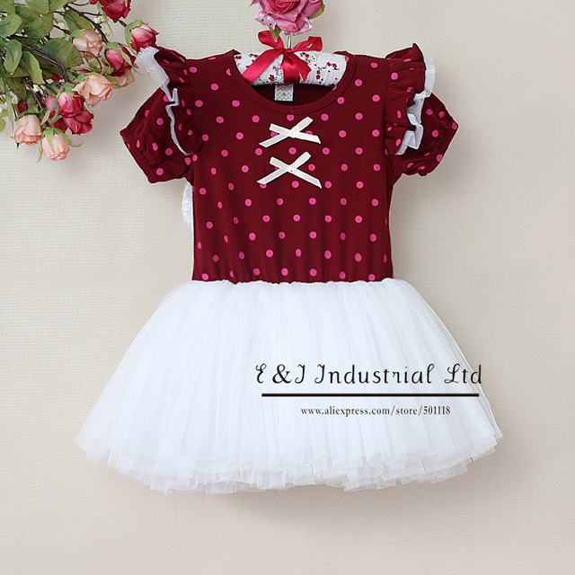 Hot Sellers Girls Formal Dress Girls Princess Tutu Dresses Infant Apparel With Angel Wing Children Wear Clothing GD30105-13^^EI