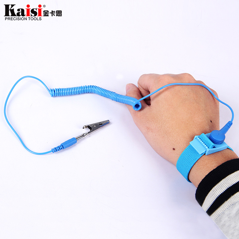 Creative Anti Static Esd Wrist Strap Elastic Band With Clip For Sensitive Electronics Repair Work Tools