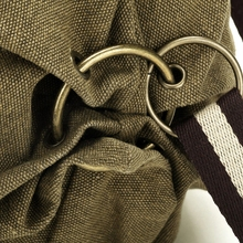 Ethnic Canvas Backpacks for Women Embroidery Patchwork Vintage Drawstring Bag Travel Boho anti theft bag