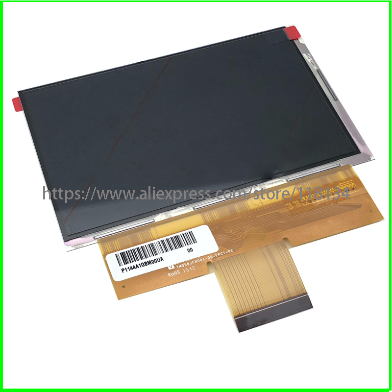 New A 5 8 inch compatible PJ058W2 1920x1080 LED Screen X 3200X projector LCD Panel