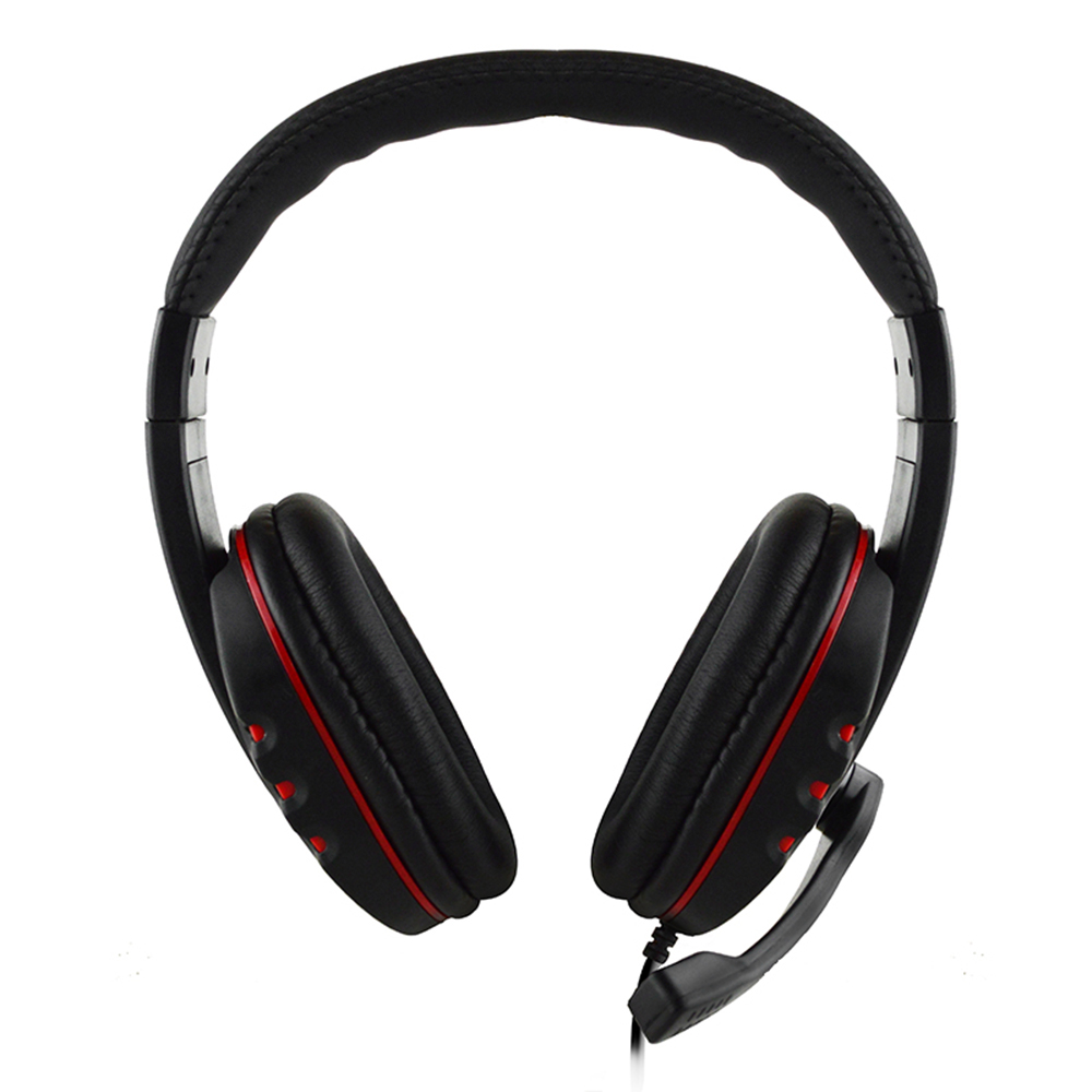 3.5mm Wired Gaming Headphones Over Ear Game Headset Noise Canceling Earphone with Microphone for PC Laptop Smart Phone gaming