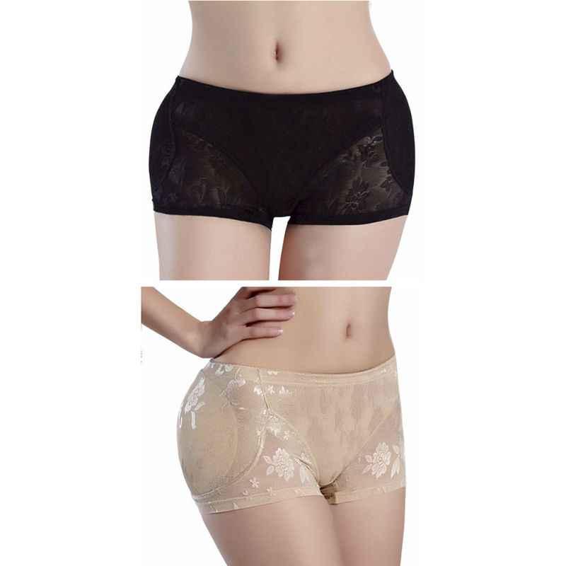 bc3f2882bf8a ... Women Lift Up Tummy Control Panties Padded Butt Lifter Shorts Hip  Enhancer Sexy Briefs Buttock Shaper ...