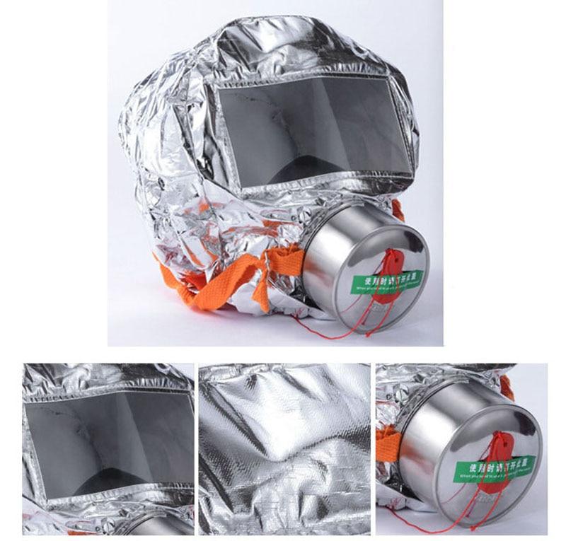 Пожарная лестница маска чрезвычайных капот кислорода противогазы Респираторы 30 минут дым токсичных фильтр противогаз с упаковочная короб...