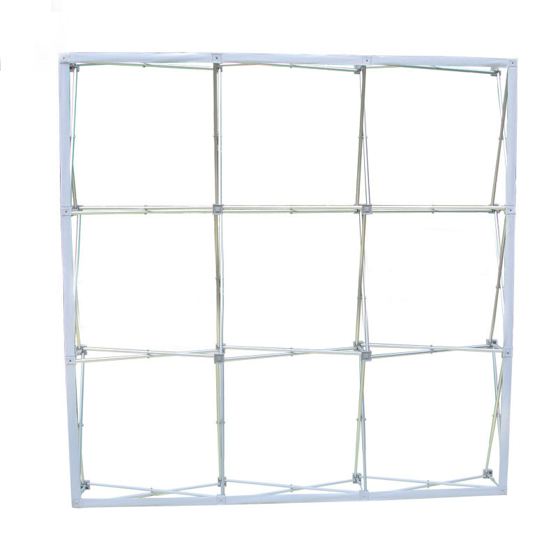 Aluminium Alloy Flower Wall Stand Pillar Frame for Wedding Backdrops Decoration Advertising Display Stand Stretch Signature Wall