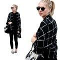 Cachecol xadrez para As Mulheres bufandas mujer 2016 preto morno mulheres cachecol inverno cachecóis xales estolas Cobertor Cachecol Marca De Luxo