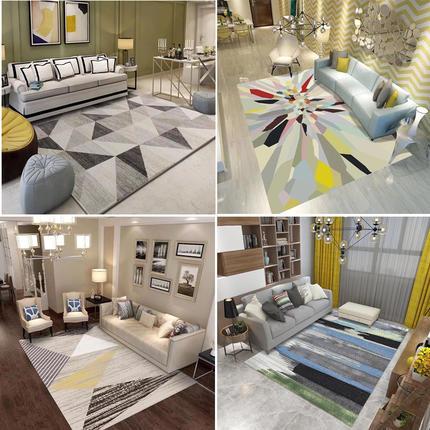 AIBOULLY 24 motif tapis salon tapis moderne minimaliste maison canapé table basse tapis nordique rectangulaire tapis de sol lavable