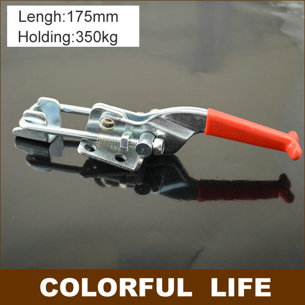все цены на 2pcs ,Galvanized iron,Lock folder, box buckle, snap, a bolt clamps,Gripping tool,mid size ,170mm,clamp 350KG,
