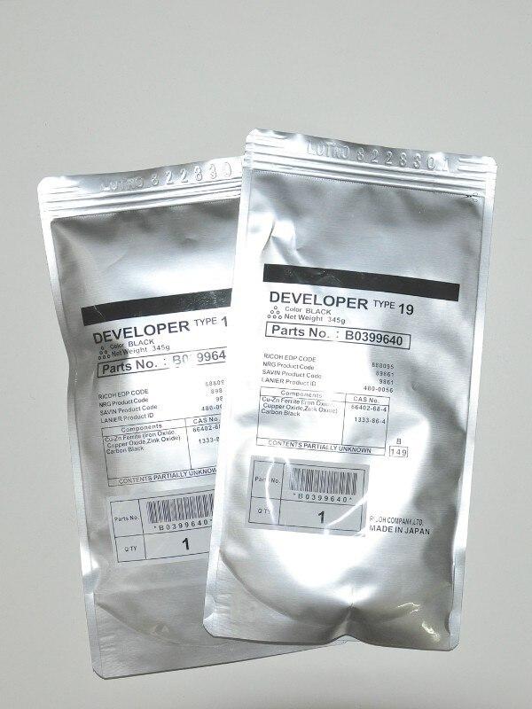 ФОТО 1Pcs Type 19 Developer Compatible For Ricoh Aficio 1015 1018 220 270 1113 1118 1115P Printer Copier Parts