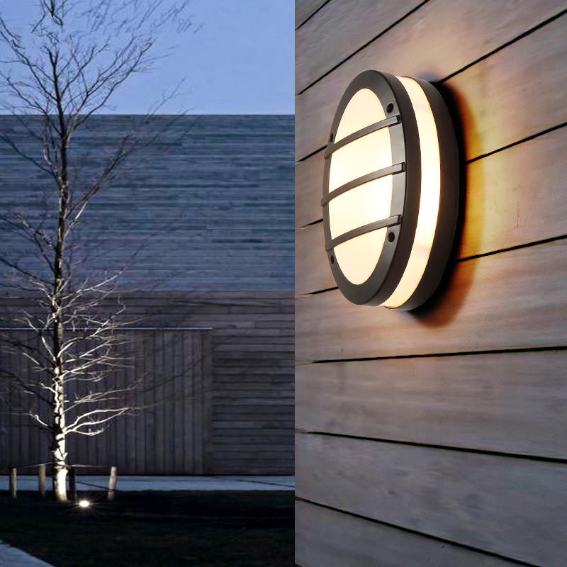 Nordic Modern Simple Aisle Outdoor Waterproof LED Wall Lamp for Balcony Courtyard Bedroom Living Room Decor Wall Lights Fixture led modern aisle wall sconces living room wall lights nordic restaurant lighting bedroom fixture novelty stairs wall lamps