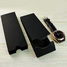 10 шт./лот, новая мода, простой стиль, дизайн, складные бумажные коробки для часов, легкие заводские магазины, кожаные часы, подарочные коробки
