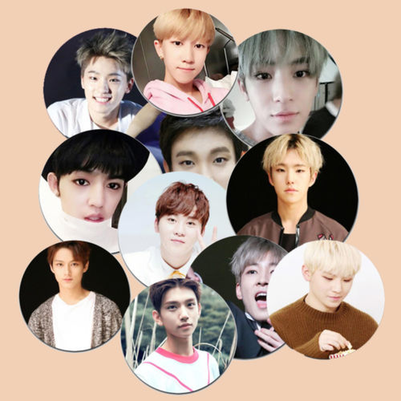 Kpop Seventeen Very Nice New Album Badge Brooch 17 Chest Pin Wonwoo Woozi