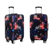 Эластичный galaxy крышку тележки для багажа пыли дождь чемодан защитный чехол небо дорожные сумки аксессуары поставок продукции