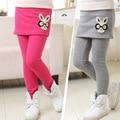 2015 novos selvagens calças de menino meninas modelos de inverno além de veludo backing calças hakama grandes virgens Crianças
