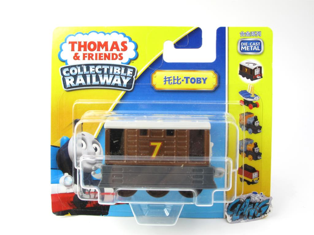 1:64 Diecasts Vehicles Thomas T134N TOBY Thomas And Friends Magnetic Tomas Truck Engine Railway Train Toys for Boys NIB