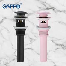 GAPPO Drains strainers  washbasin sink Drains bathroom shower drain strainer pop up bathroom basin cover stopper drainer