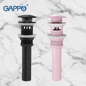 Image 1 - GAPPO дренажные фильтры для раковины, дренаж для раковины, ванная комната, Душ, сливной фильтр, всплывающее покрытие для раковины, пробка для слива
