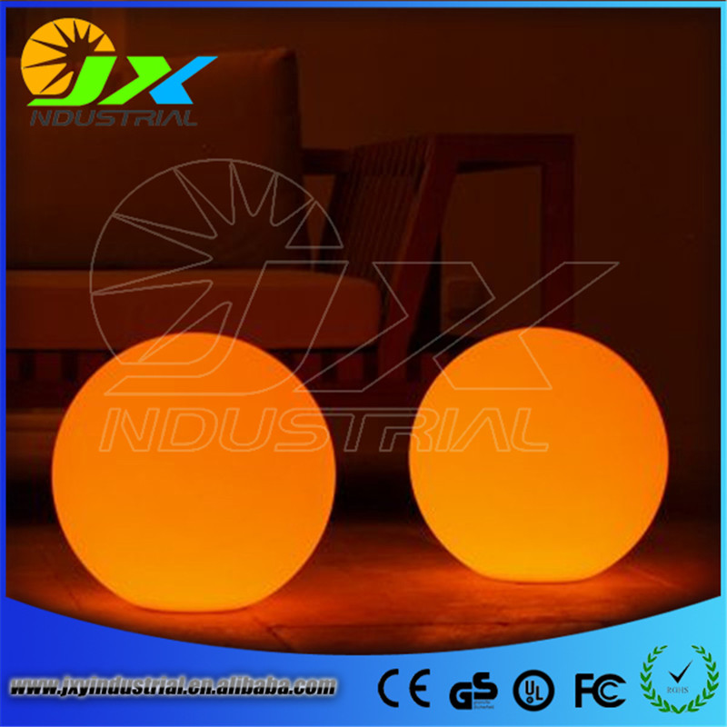led rechargeable balls/ Led orb lighting Remote Controlled Color Changing Rechargeable Waterproof Glowing Decorative Garden Led