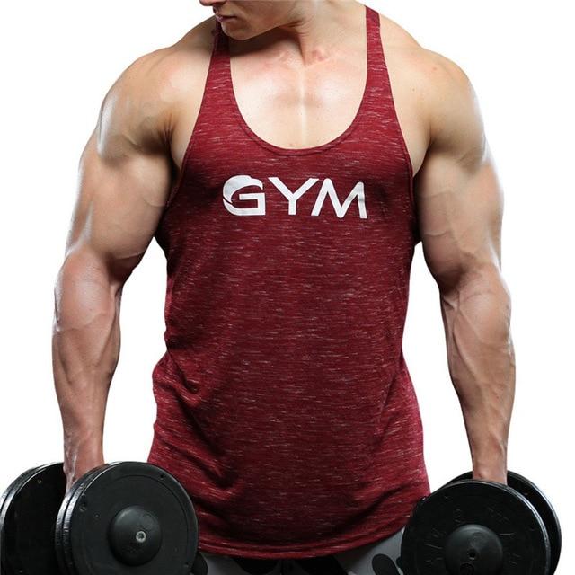 72f899e3f19ba4 Summer Gyms Mens Undershirt Sporting Wear Patchwork Bodybuilding Men  Fitness Exercise Clothing Vest Sleeveless Shirt Tank Tops
