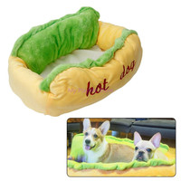 Cute Hot Dog Bed Pet Dog Lounger Bed House Sleeping Nest Mat Warm Soft Cotton Pad Cushion Product for Cat Puppy Kitten C42