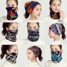 Зимний женский шарф, мягкие хлопковые кольца на шею, мягкая теплая маска для лица для девочек, foulard femme