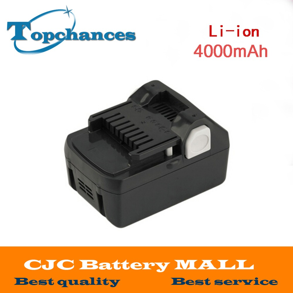 High Quality New 18V 4000mAh Power Tool Battery For Hitachi BSL1830 BSL1840 330067 Power Tool 4000mAh eleoption 2pcs 18v 4000mah li ion rechargeable power tool battery for hitachi bsl1830 bsl1840 330067