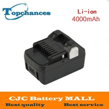 High Quality New 18V 4000mAh Power Tool Battery For Hitachi BSL1830 BSL1840 330067 Power Tool 4000mAh