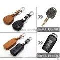 Высокое Качество кожа Дистанционного Управления Автомобилем Брелок ключа обложка для MITSUBISHI OUTLANDER Lancer EX ASX