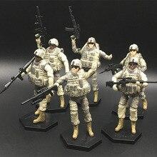 1 комплект с коробкой, Сборная модель военного солдата, 101st дивизия воздуха(штурм воздуха), строительные блоки, игрушечные модели, наборы для детей