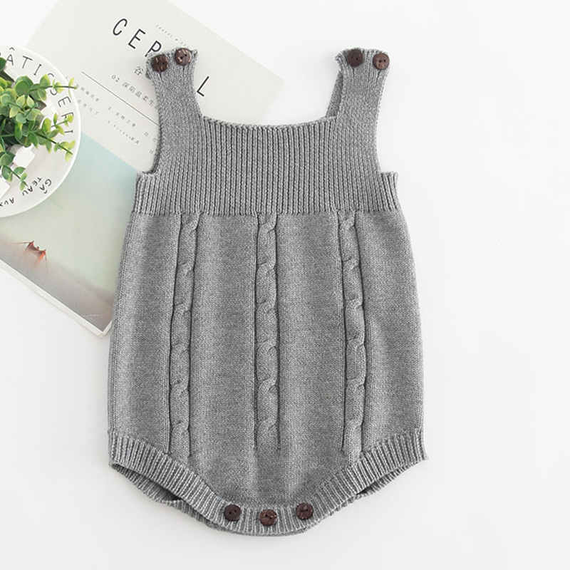 2019 High Quality Baby Boy Knit Romper Girls Cute Crochet Rompers Toddler Brand Spring Suspender Infant 2019 High Quality Baby Boy Knit Romper Girls Cute Crochet Rompers Toddler Brand Spring Suspender Infant Lovely Knitting Romper