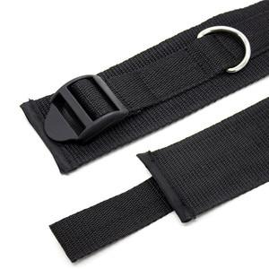 Image 4 - ナイロン手錠緊縛ボンデージエロ下ベッド緊縛ボンデージ拘束ストラップ系の大人のおもちゃ大人のための手首 & 足首袖口