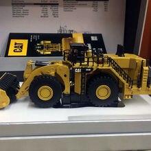 Редкая литая игрушка модель DM 1:125 гусеница 994K колесный погрузчик Элитные транспортные средства Инженерная техника 85535 для мужчин подарок, украшение