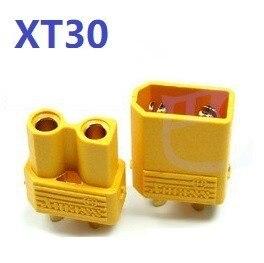 2 шт./набор XT30 XT60 XT90 штекер мужской женский пулевые Разъемы Вилки для RC Lipo батареи T штекер для самолетов аксессуары Запчасти - Цвет: Цвет: желтый