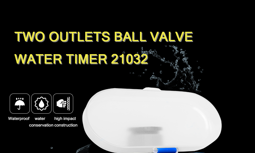Ball Valve Electronic Automatic Garden Watering Timer For Comfort Grip And Easy Use 6