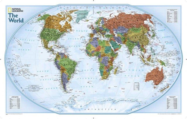 National geographic world map printed canvas oil painting home national geographic world map printed canvas oil painting home decoration wall pictures for living room poster gumiabroncs Image collections