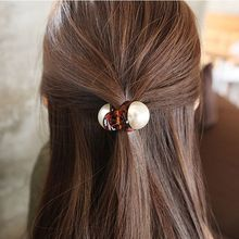 2pcs/New big pearl princess clip ponytail best selling 2019 product female hair accessories wholesale