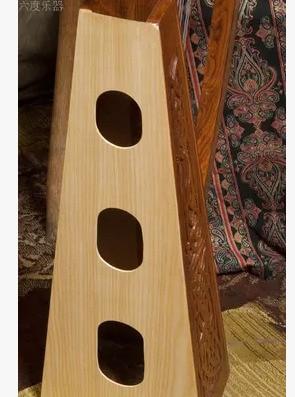 Baiyuanharp Celtic Harp 22 String Rose Wooden Piano Carved Sound Beautiful Fine Workmanship